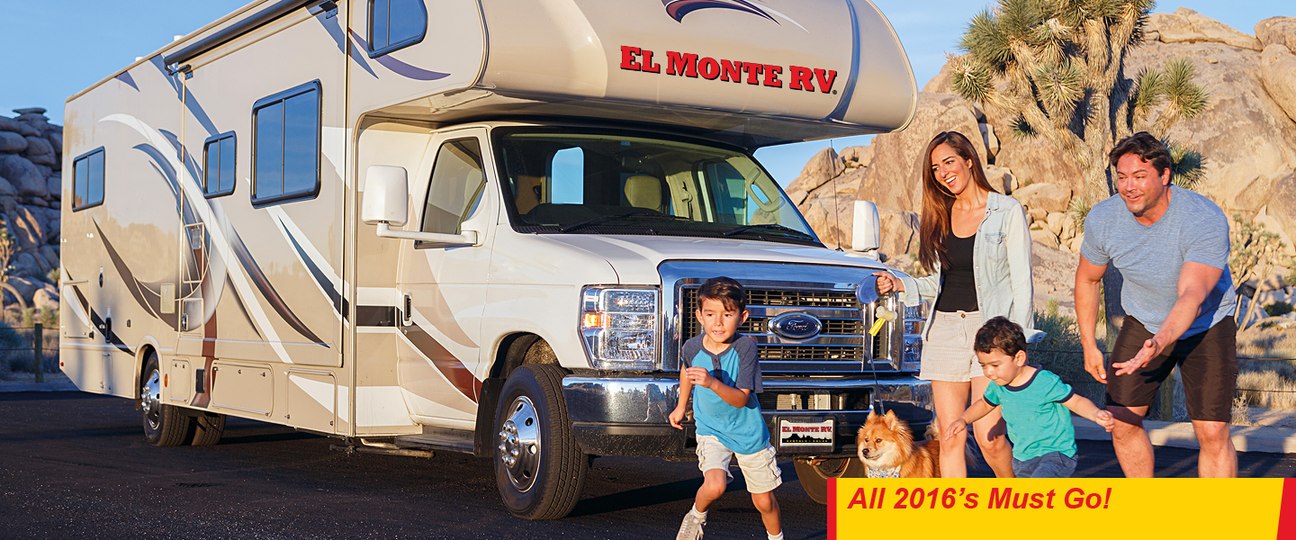 Used RV Sales Location El Monte RV
